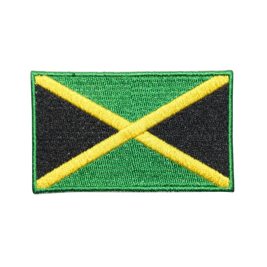 Jamajka vlajka nášivka