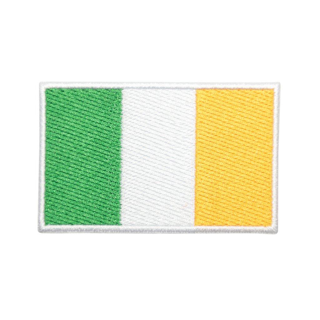 Irsko vlajka nášivka