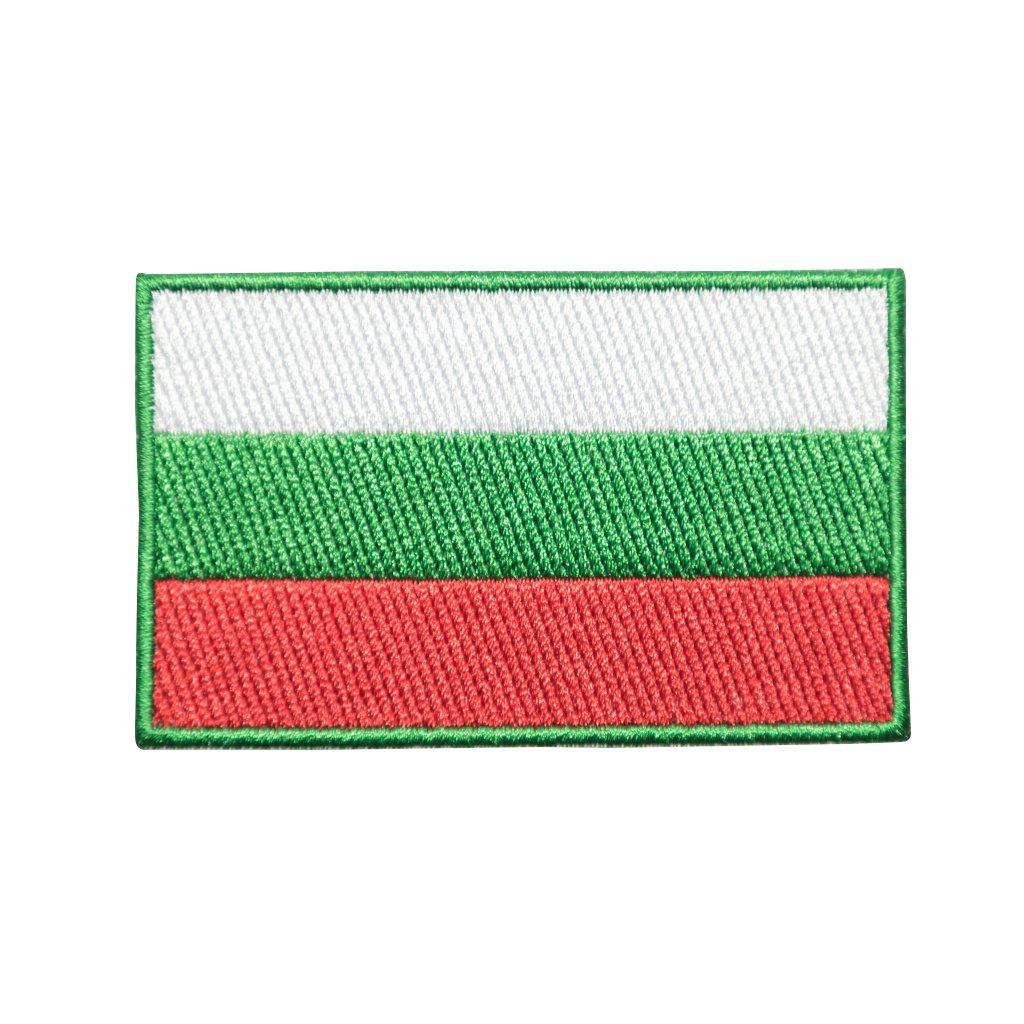 Bulharsko vlajka nášivka