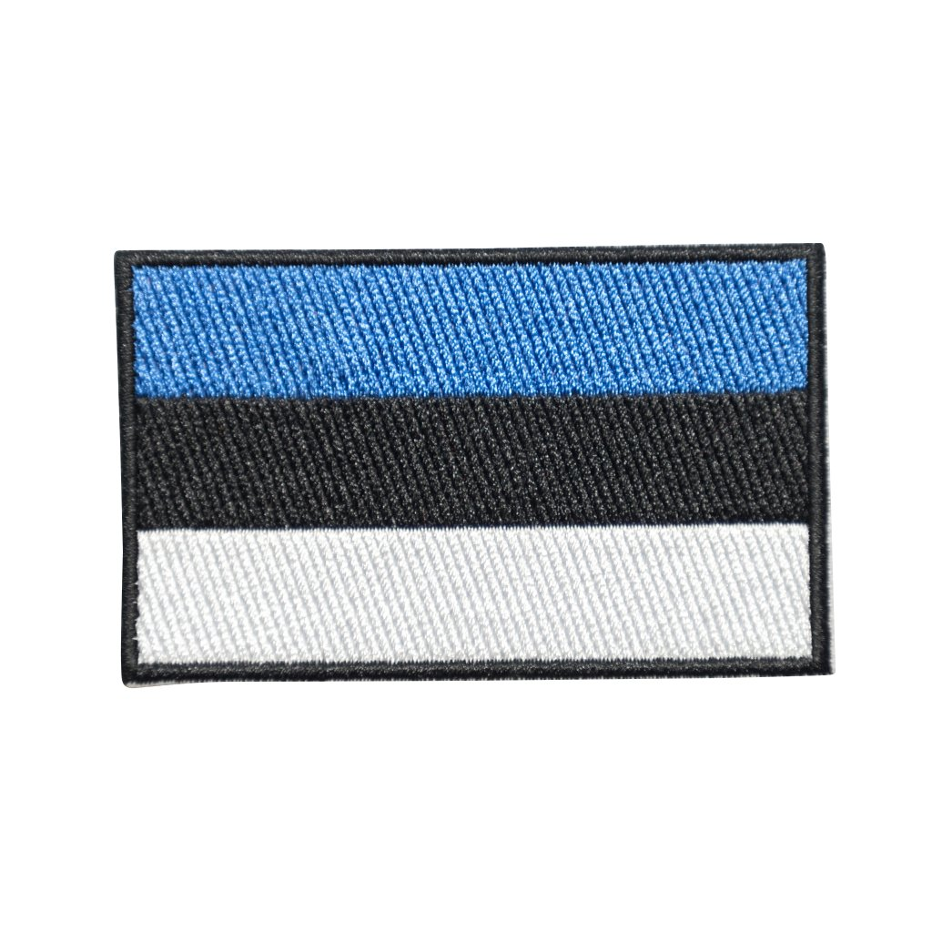 Estonsko vlajka nášivka