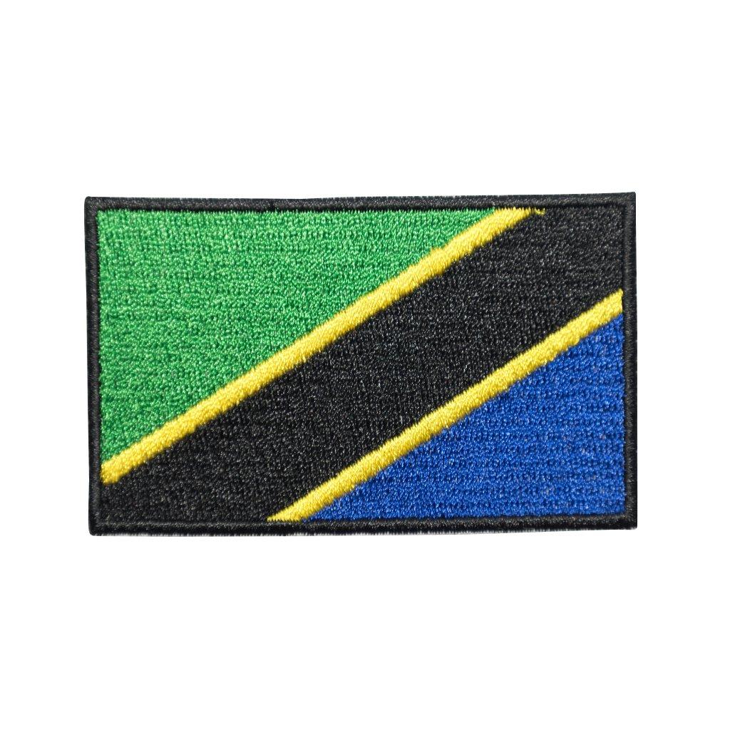 Tanzanie vlajka nášivka