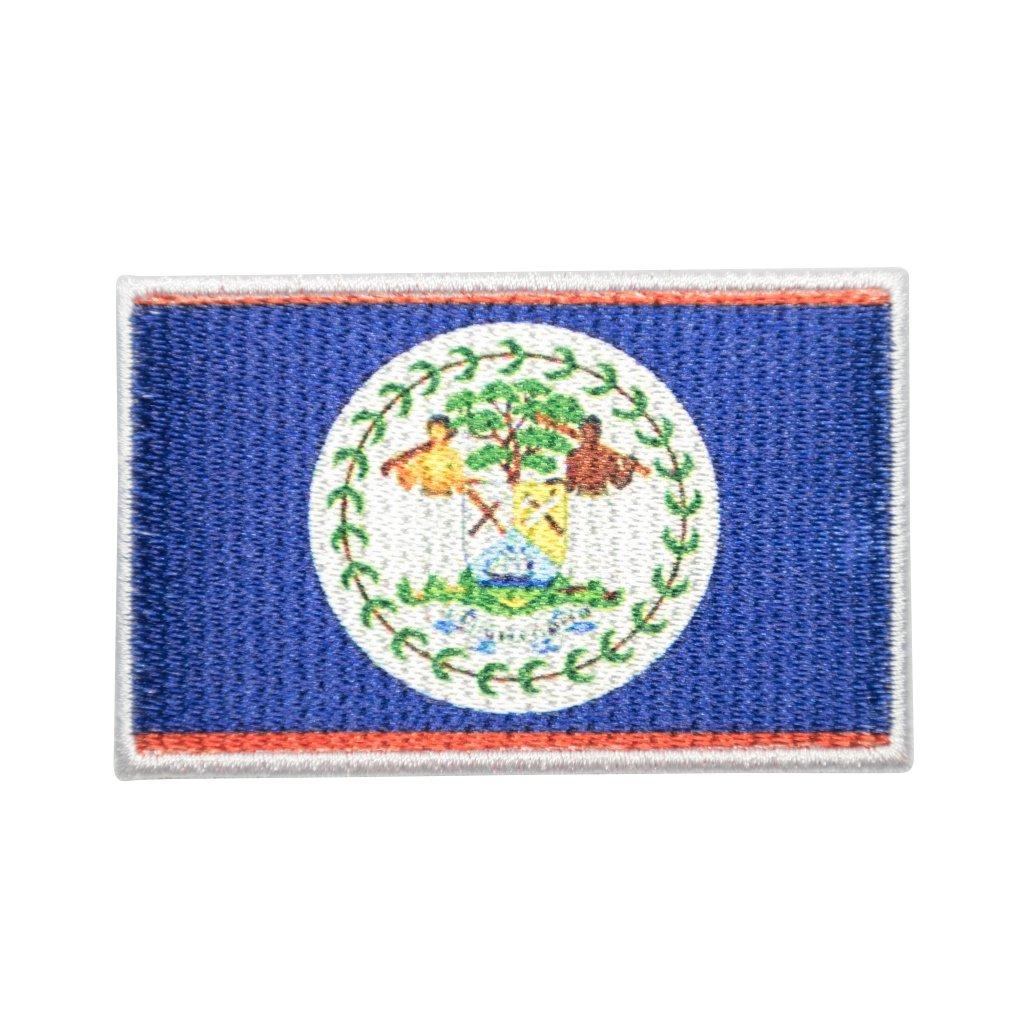 Belize vlajka nášivka