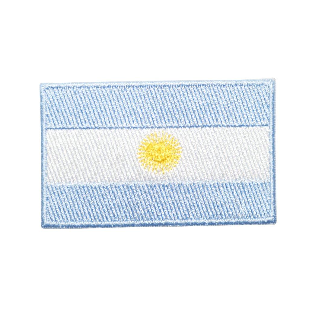 Argentina vlajka nášivka