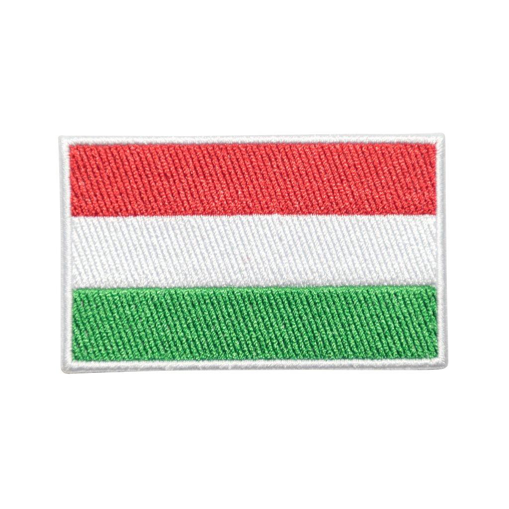Maďarsko vlajka nášivka