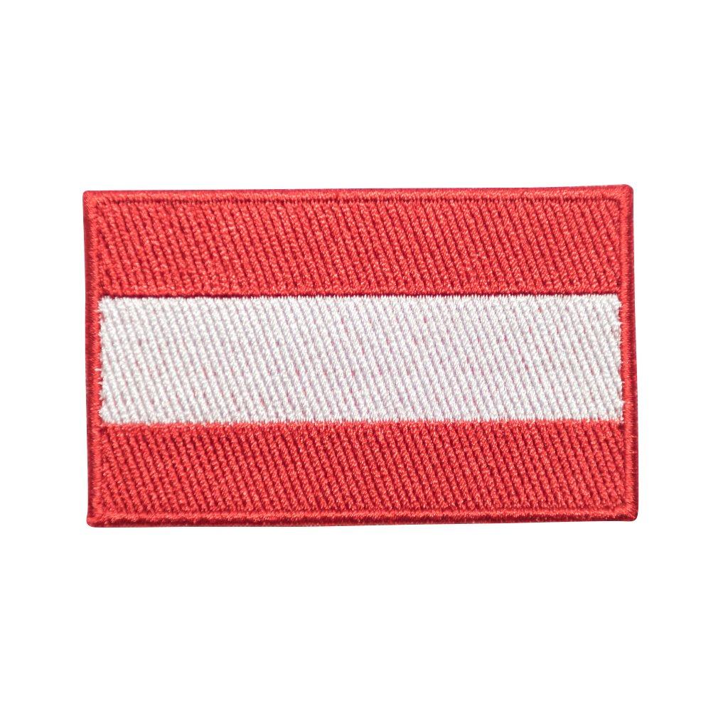 Rakousko vlajka nášivka