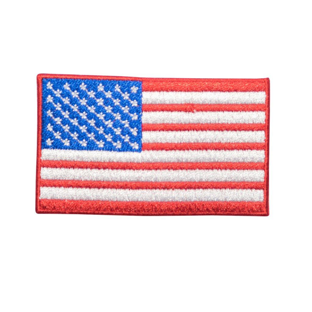USA vlajka nášivka