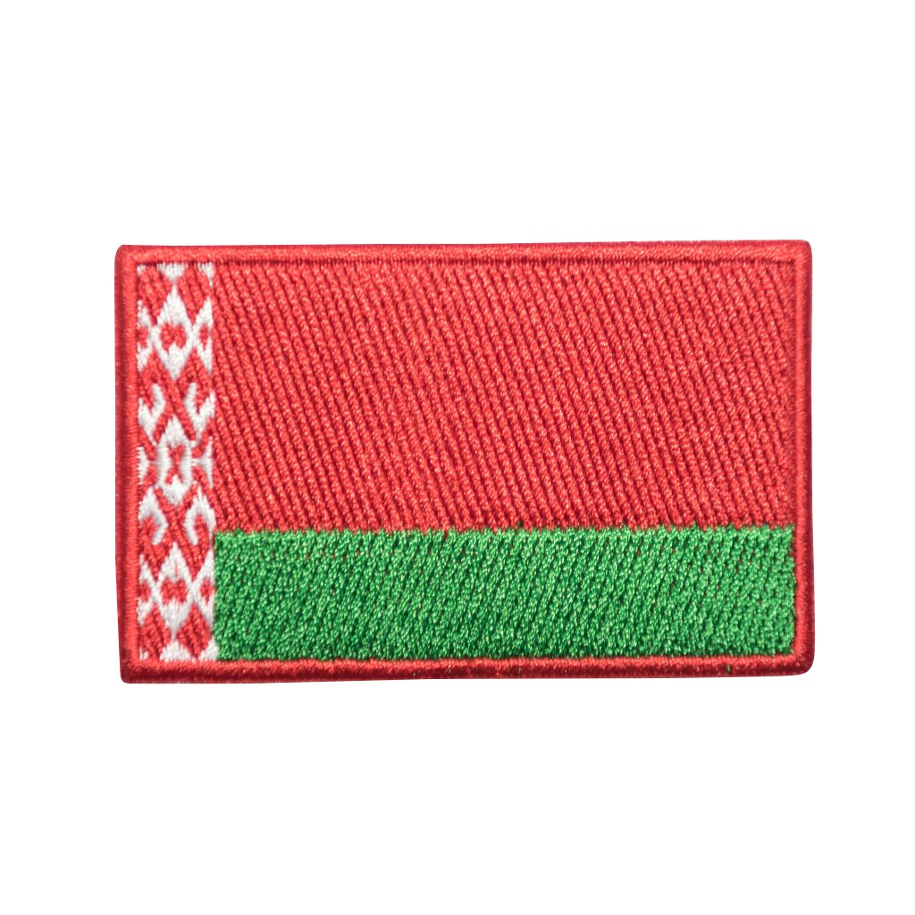 Bělorusko vlajka nášivka