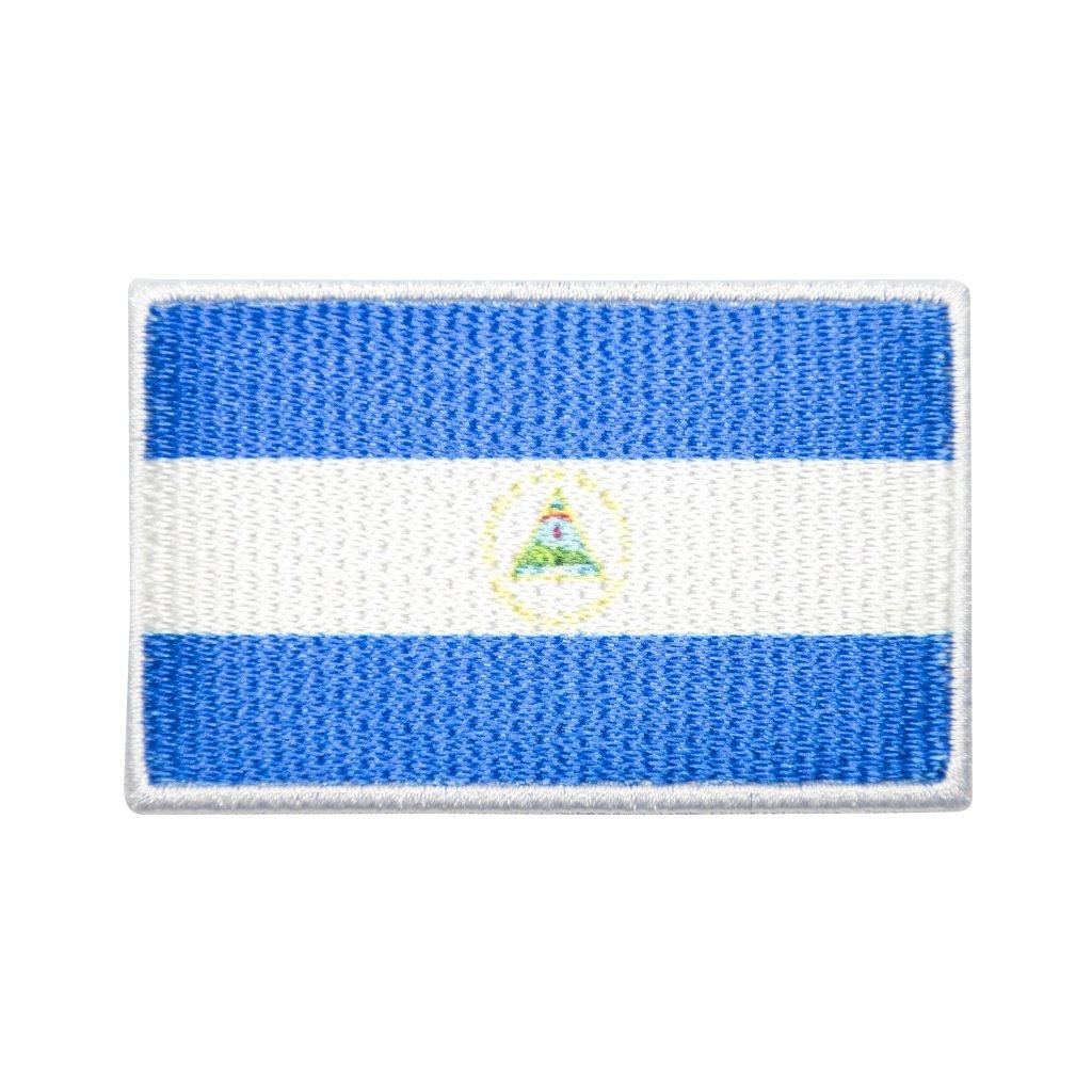 Nikaragua vlajka nášivka
