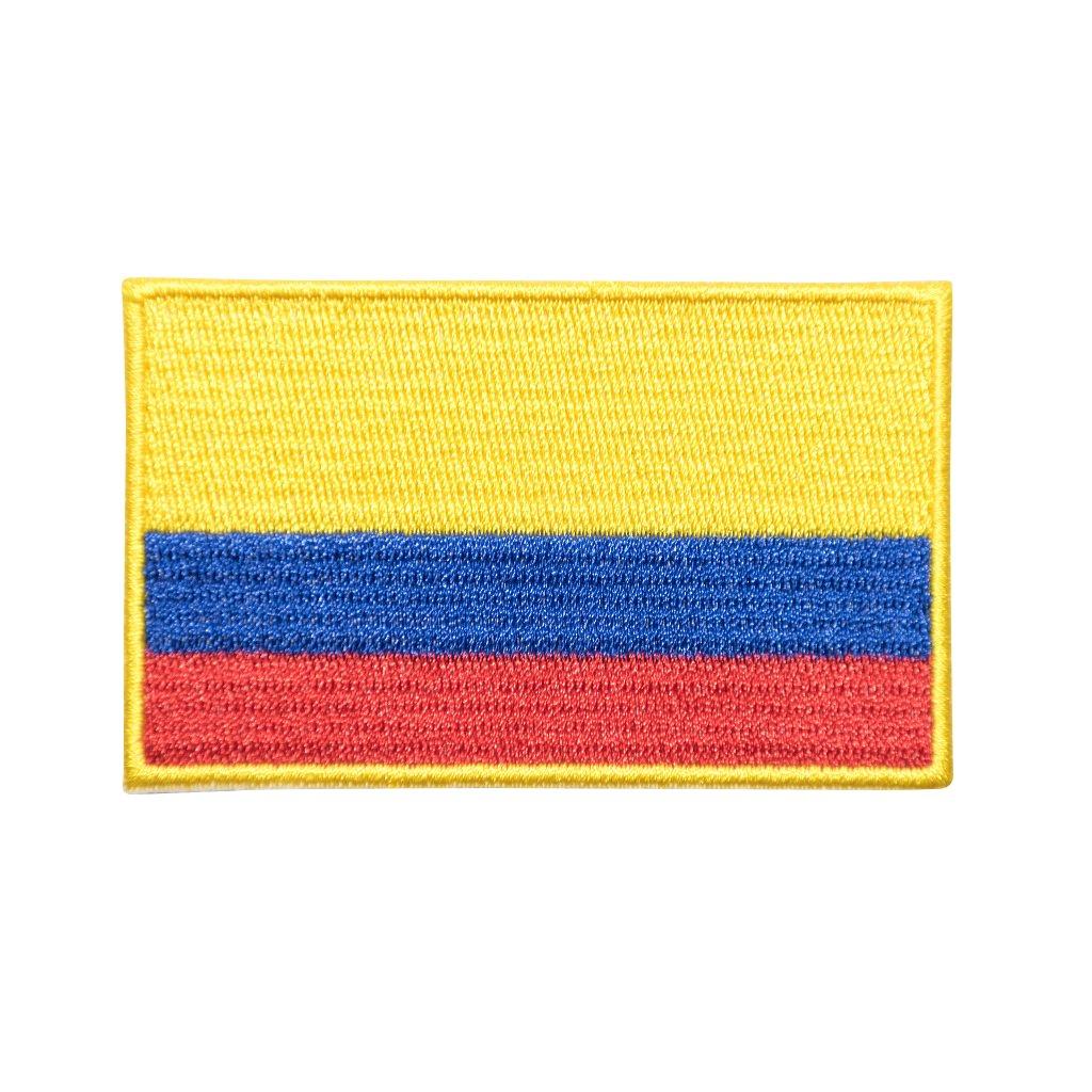 Kolumbie vlajka nášivka