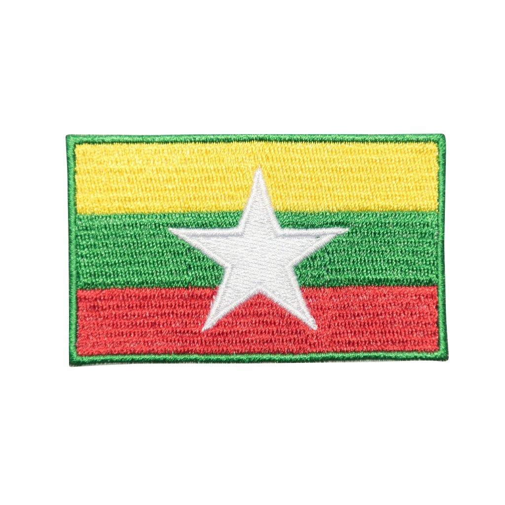 Myanmar vlaka nášivka