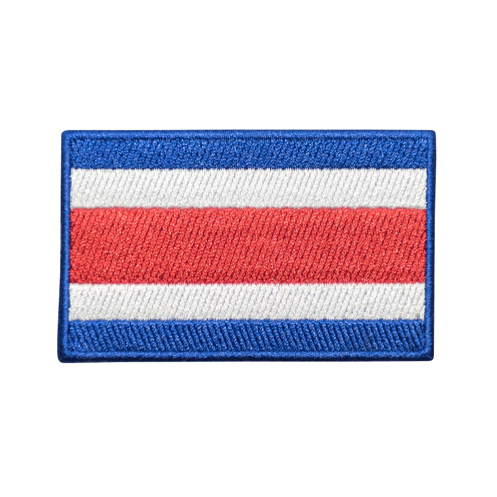 Kostarika vlajka nášivka