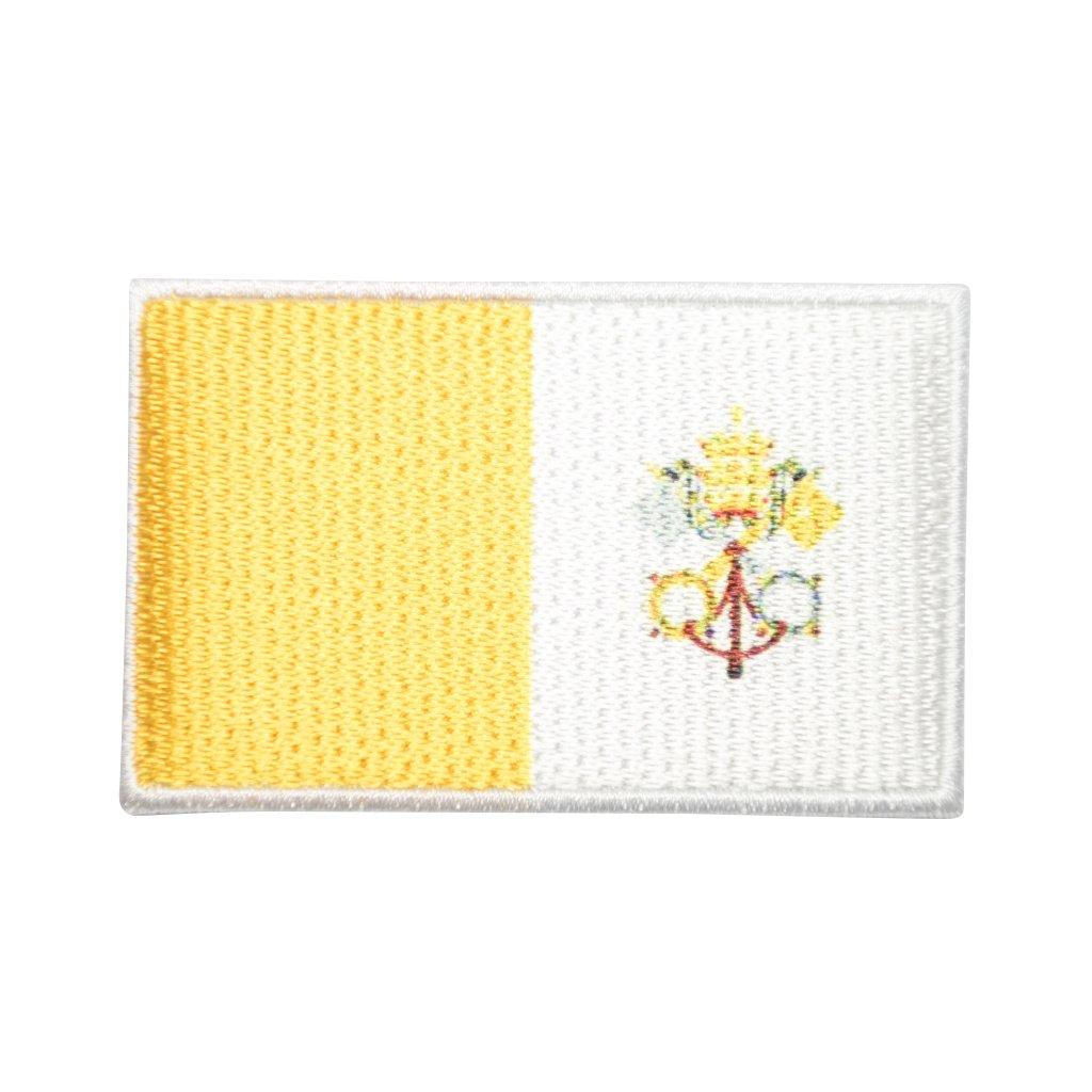 Vatikán vlajka nášivka