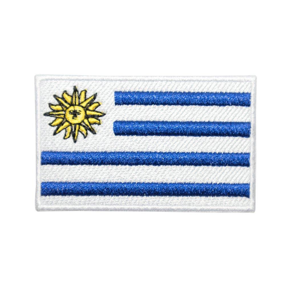 Uruguay vlajka nášivka