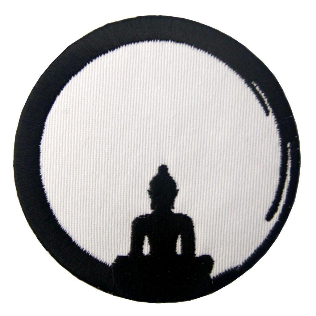 Meditující budha nášivka