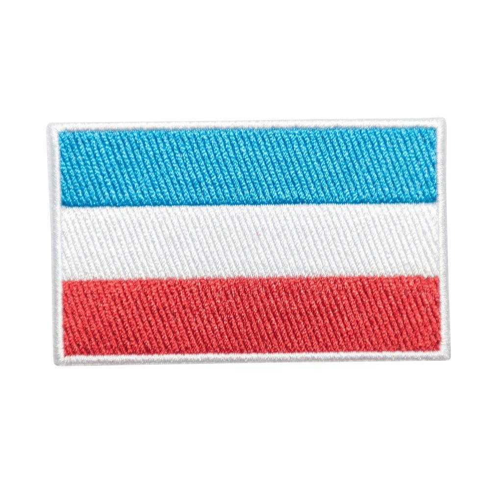 Lucembursko vlajka nášivka