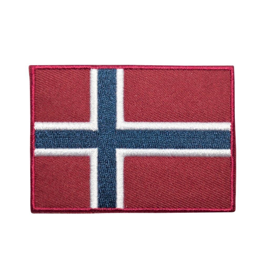 Norsko vlajka nášivka
