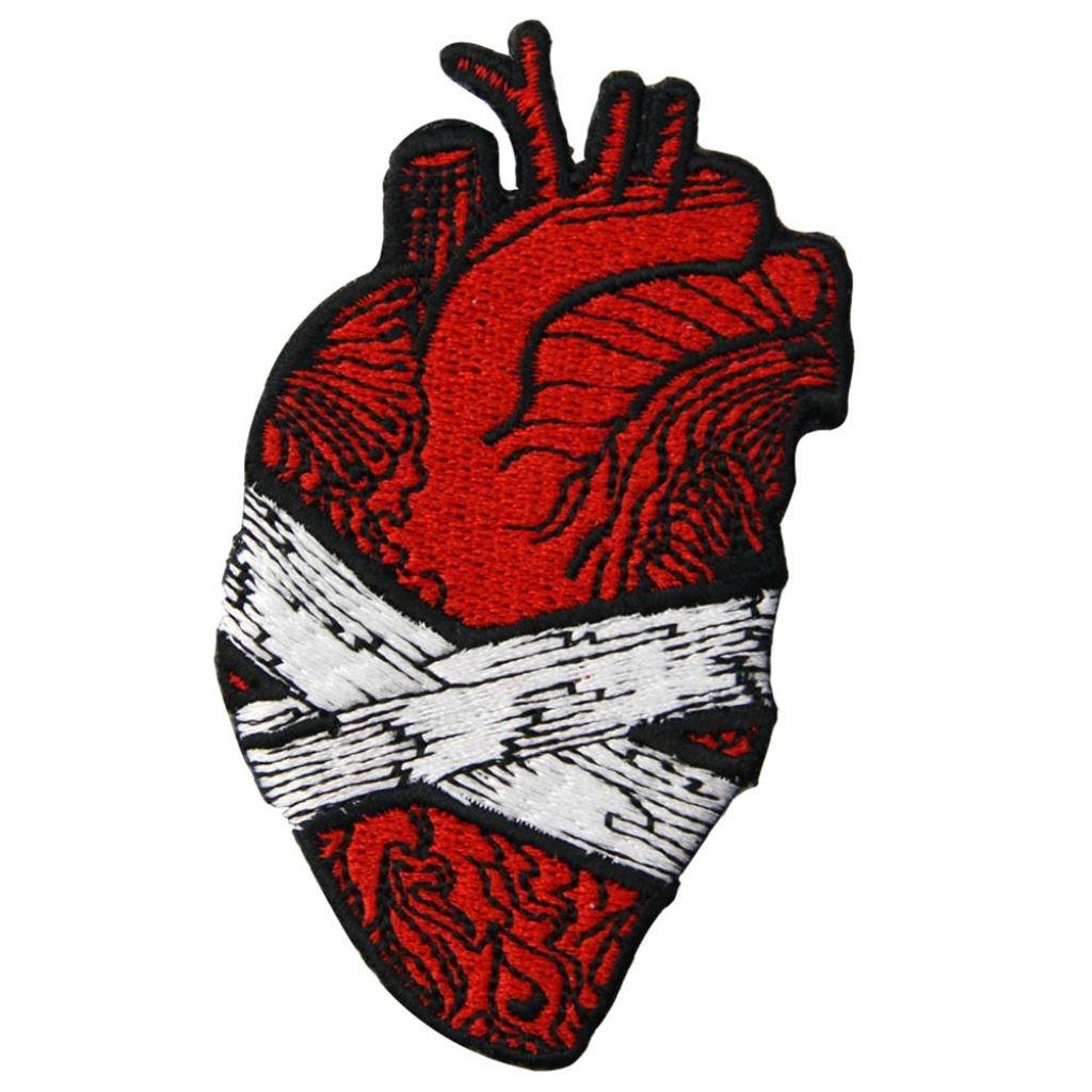 Obvázané zlomené srdce nášivka