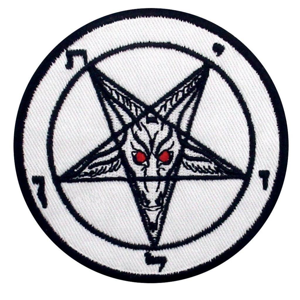 Bafomet Satan nášivka