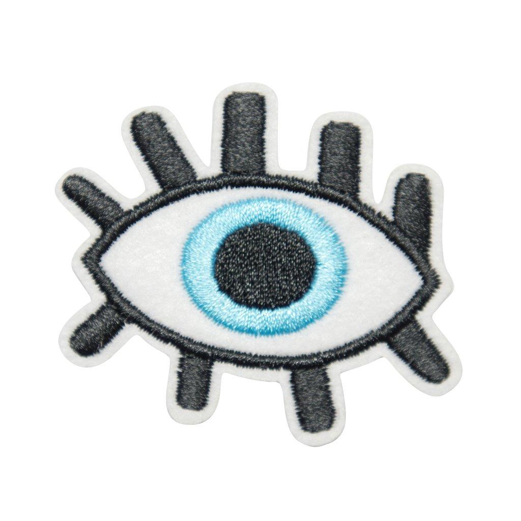Modré oko nášivka