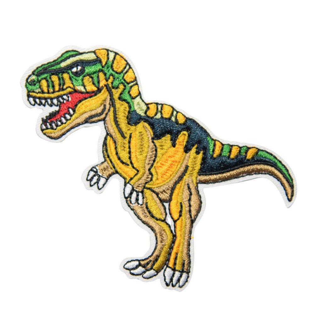 T-rex dinosaur nášivka