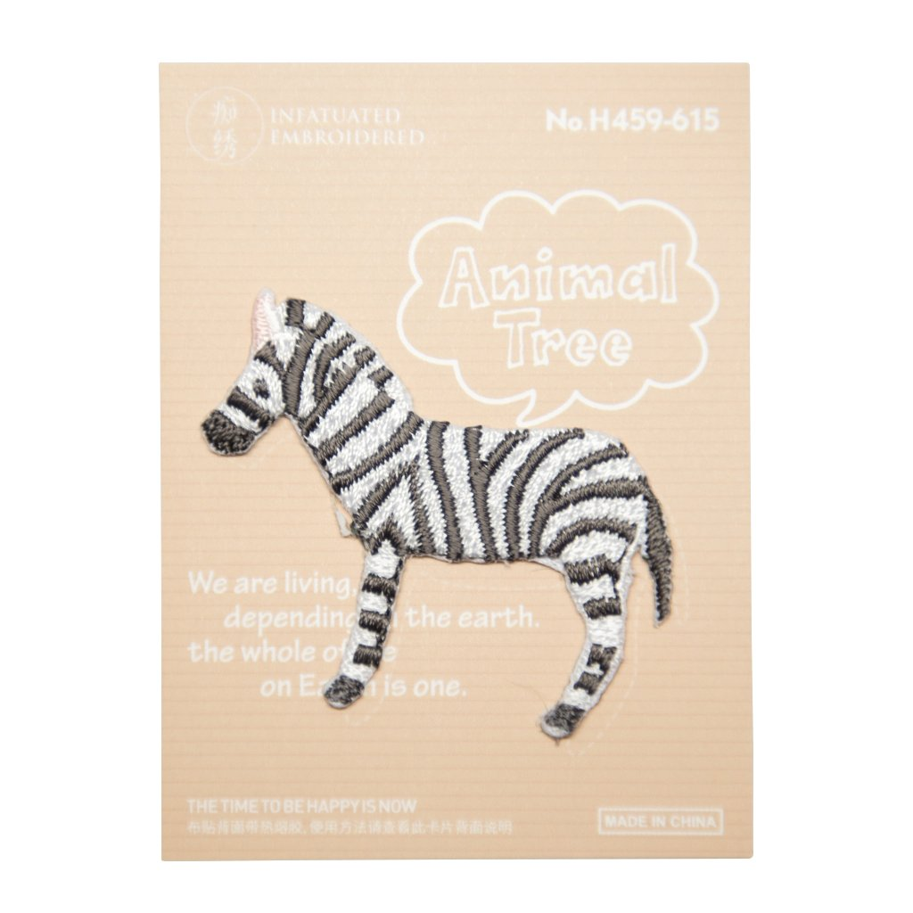 Zebra nášivka
