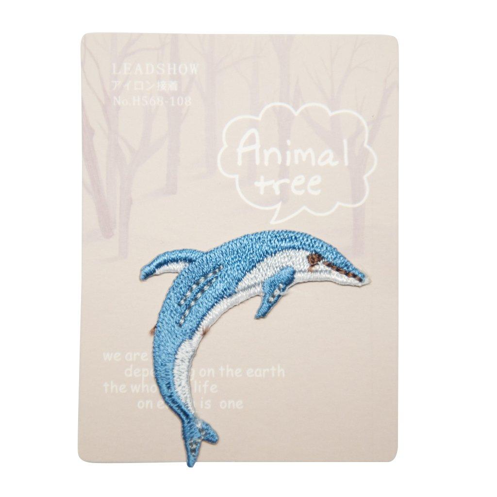 Delfín nášivka