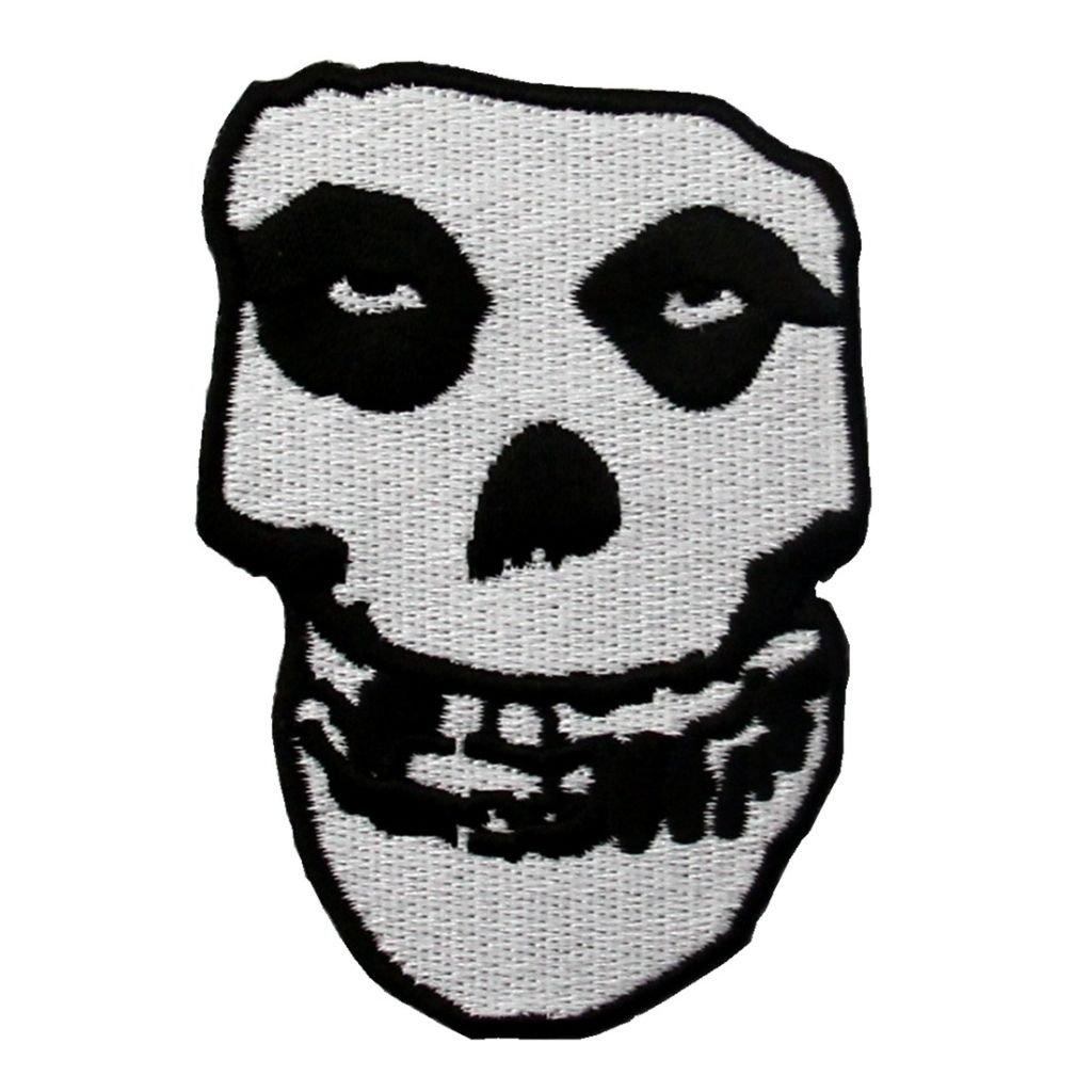 Misfits lebka nášivka