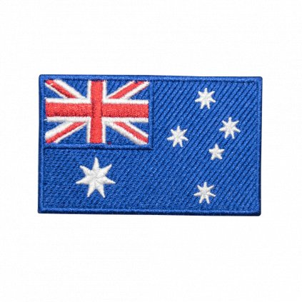 Austrálie vlajka nášivka