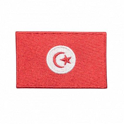 Tunisko vlajka nášivka
