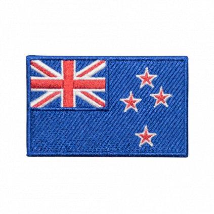 Nový Zéland vlajka nášivka