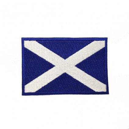 Skotsko vlajka nášivka