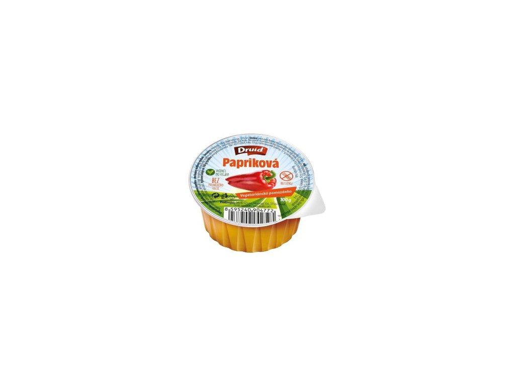 Veg. pomazánka s červenou paprikou DRUID 100 g 300x264