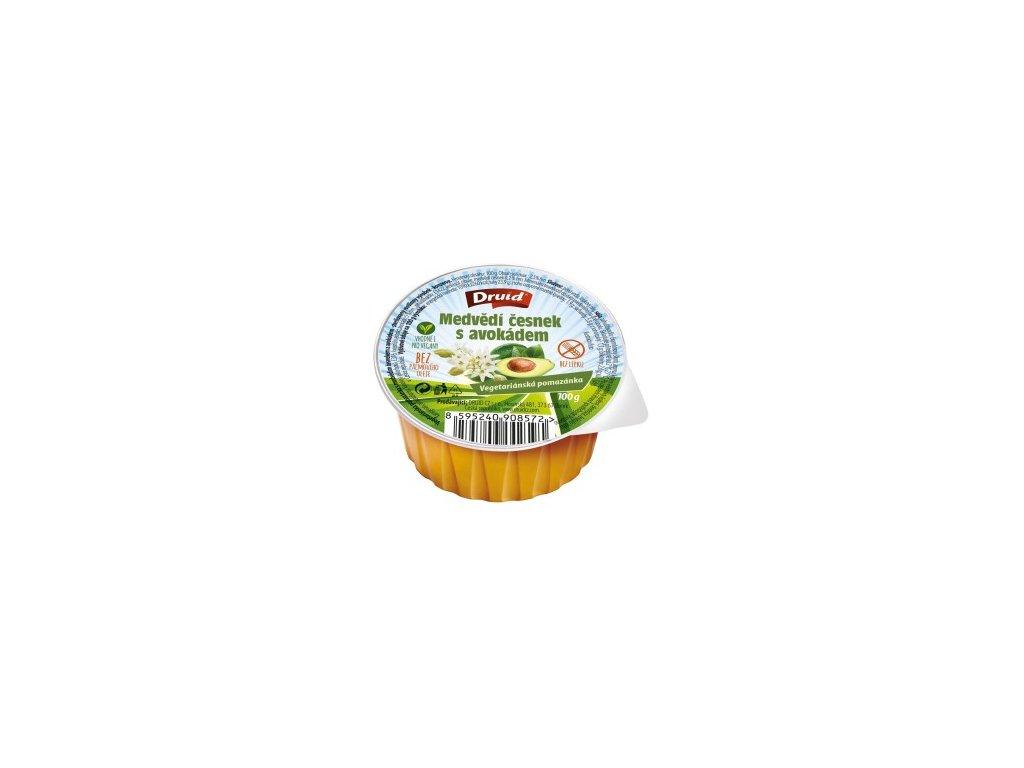 Veg. pomazánka medvědí česnek s avokádem 100 g 300x264