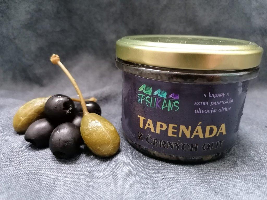 Tapenáda z černých oliv 170 g