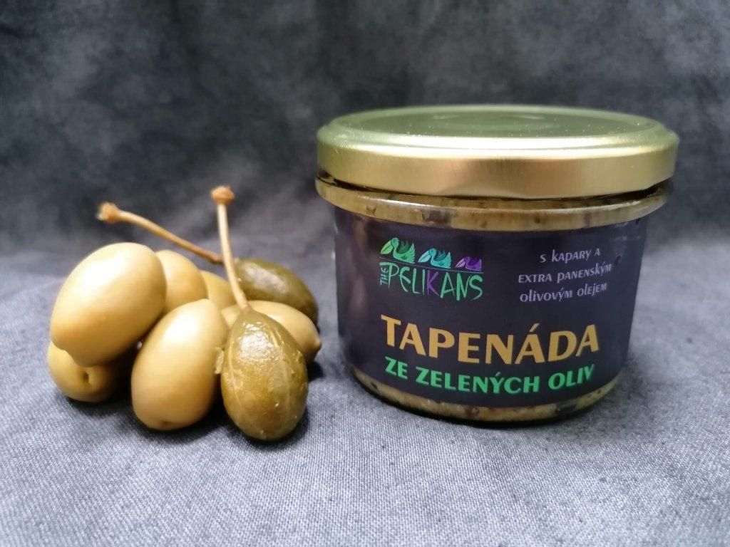 Tapenáda ze zelených oliv 170 g