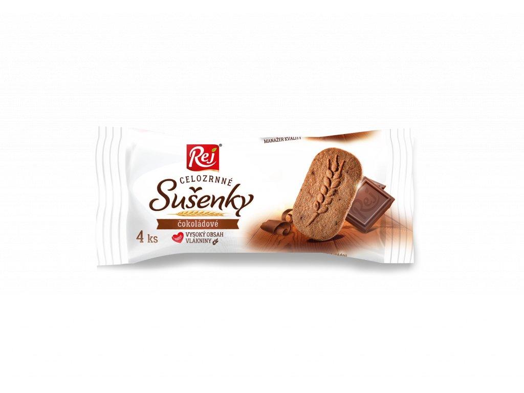 Sušenky klasy celozrnné čokoládové 34 g
