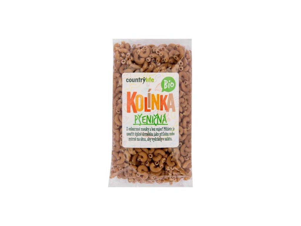 Těstoviny kolínka pšeničná 400 g BIO COUNTRY LIFE