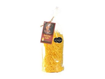 Babiččiny nudle válcované polévkové visačka 330 g DRUID logo 129x300