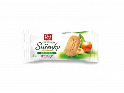 Sušenky klasy celozrnné lískooříškové 34 g