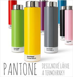 Pantone – designové láhve a termohrnky