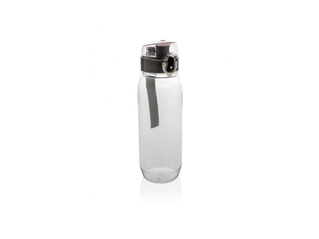 lahev na vodu s uzamykatelnym vickem 800 ml xd design cerna