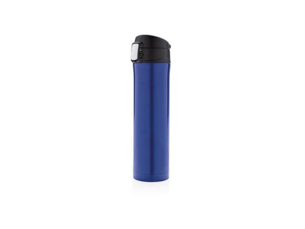 uzamykatelna termoska easy 450 ml loooqs modra