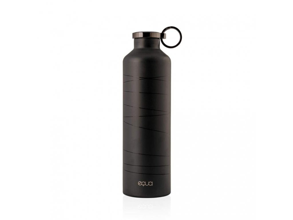 680ml 23oz basic black grey smart water bottle equa 498 1024x1024