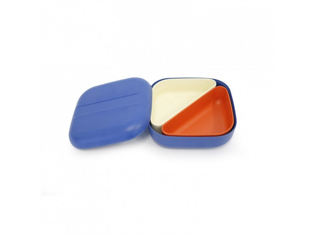ekobo bento lunch box svacinovy box blue zelenadomacnost