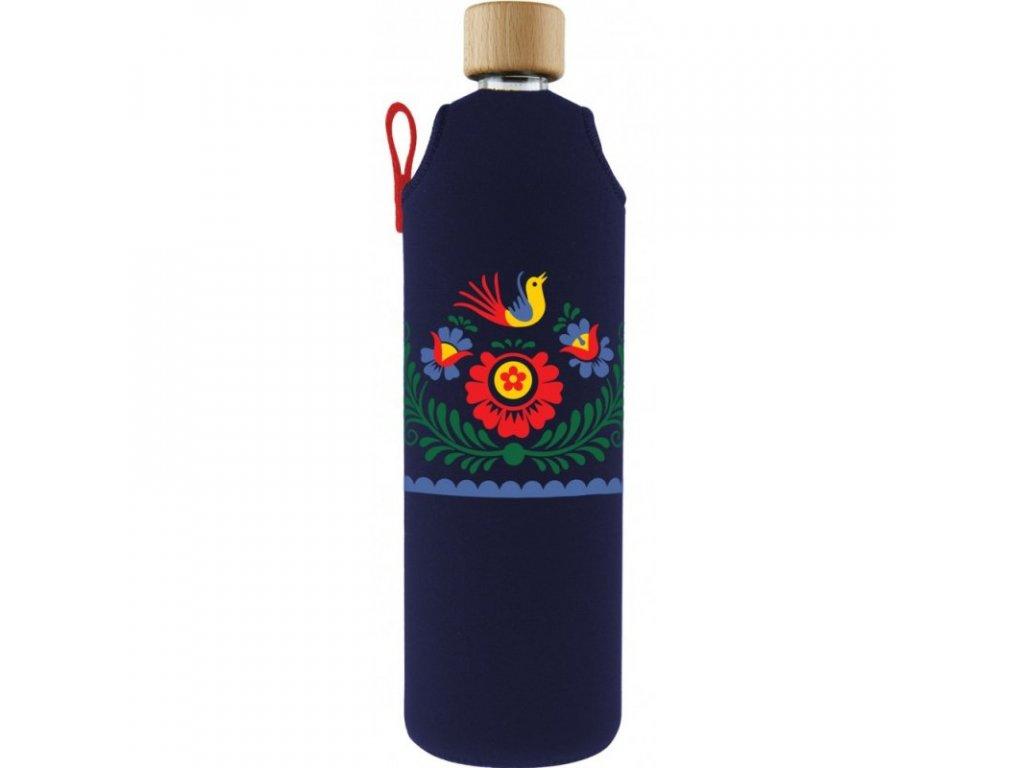 drink it lahev sklo napisa 700 ml zelenadomacnost