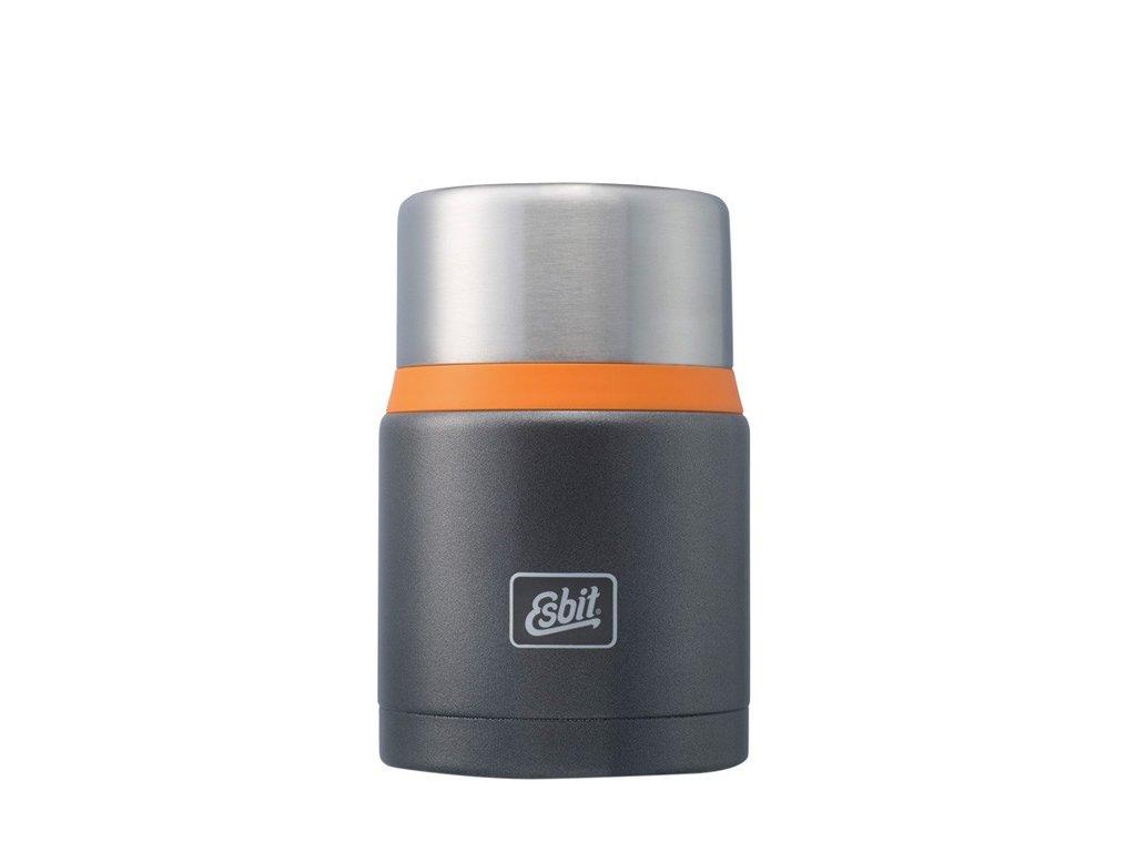 Termoska jídlo 0,75L Grey/Orange