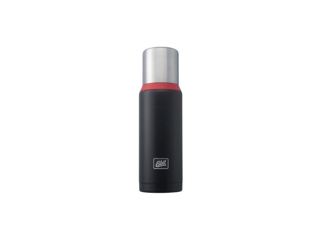 Termoska 1L Black / Red