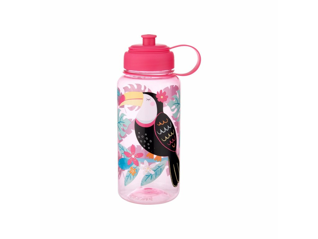 ZIP031 A Toucan Water Bottle Front