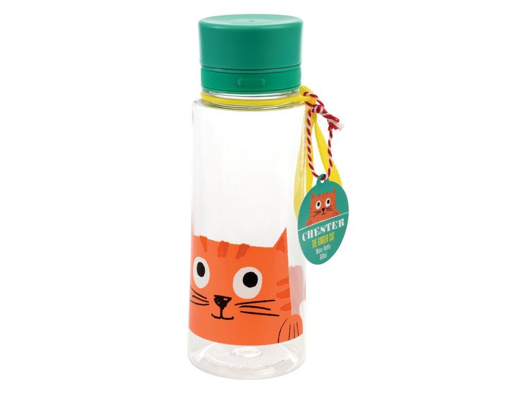 láhev na vodu Rex London 0,6 - CHESTER THE CAT