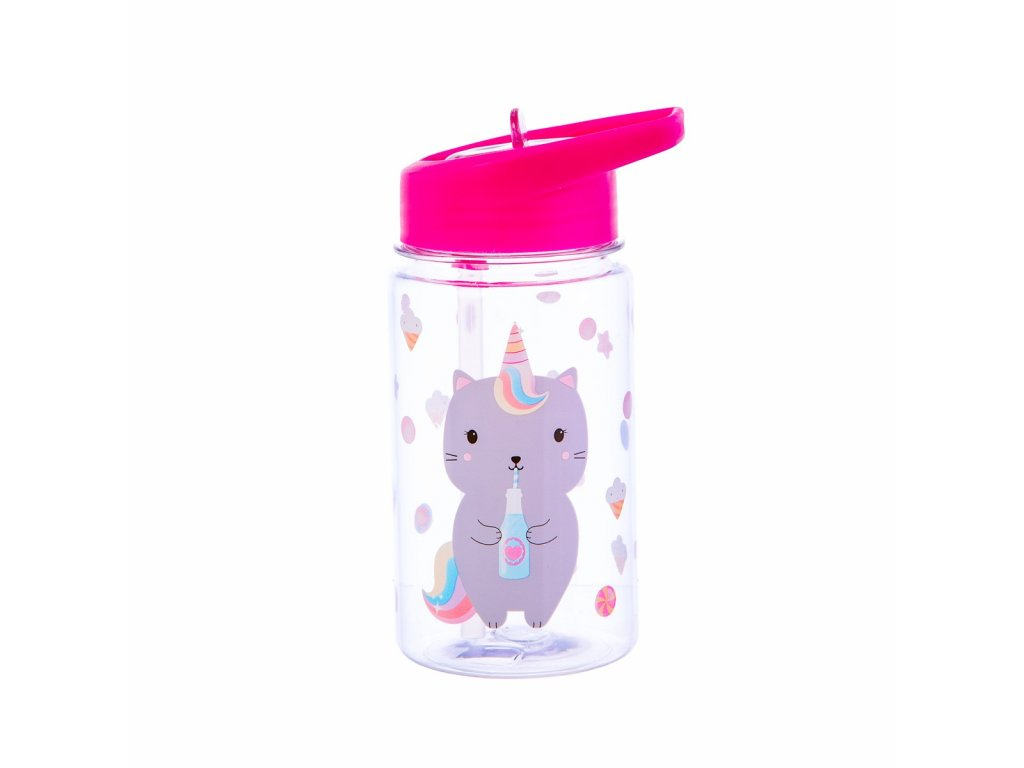 ZIP026 A Caticorn WaterBottle Front